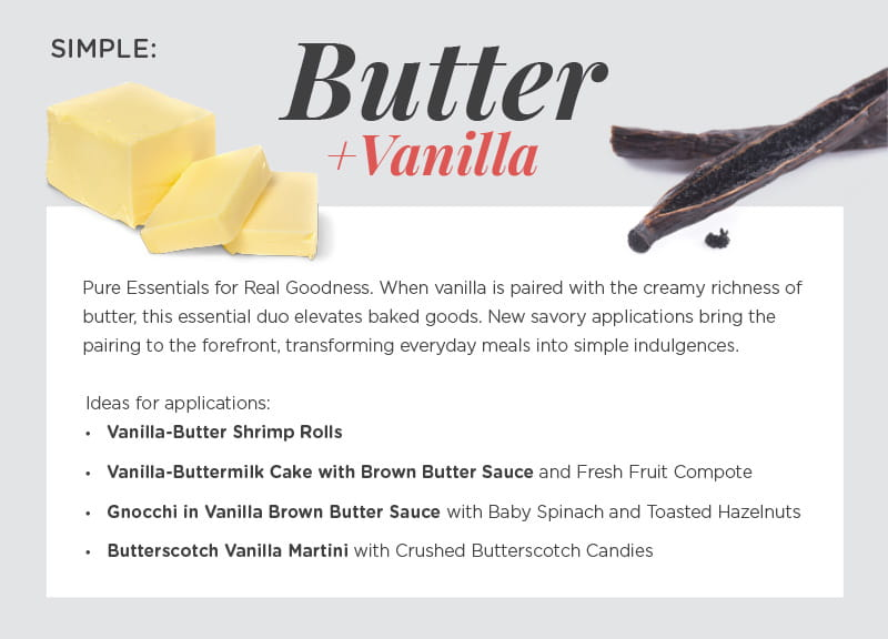 Simple: Butter & Vanilla