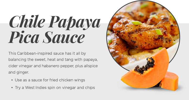 Chile Papaya Pica Sauce